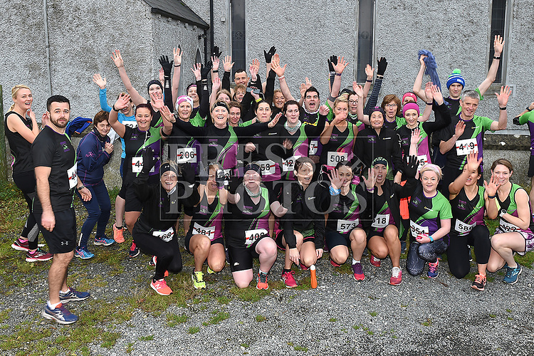 Members of Navan AC who took part in the Noel Carroll 10k race at Annagassan. Photo:Colin Bell/pressphotos.ie