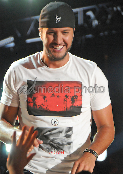 12 June 2016 - Nashville, Tennessee - Luke Bryan. 2016 CMA Music Festival Nightly Concert held at Nissan Stadium. Photo Credit: Dara-Michelle Farr/AdMedia