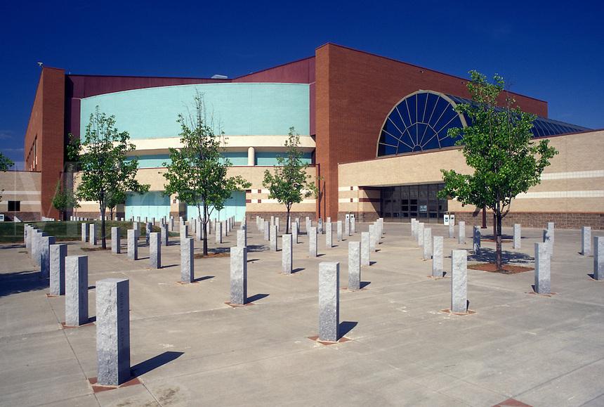 arena, stadium, Winston-Salem, NC, North Carolina, Lawrence Joel Veterans Memorial Coliseum in Winston-Salem.