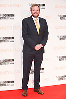 "Miles Jupp<br /> arriving for the London Film Festival 2017 screening of ""Journey's End"" at the Odeon Leicester Square, London<br /> <br /> <br /> ©Ash Knotek  D3320  06/10/2017"