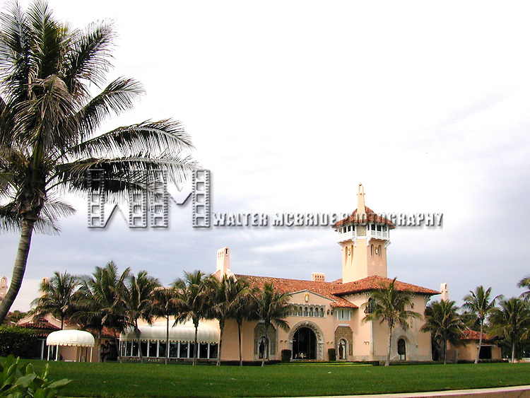 Donald Trump's Mar-A-Largo Resort in <br /> Palm Beach, Florida on January 1, 2002