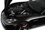 Car Stock 2018 Karma Revero - 4 Door Sedan Engine  high angle detail view