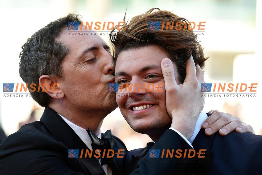 Kev Adams, Gad Elmaleh <br /> Cannes 21-05-2016 <br /> Festival del Cinema di Cannes 2016<br /> Foto Panoramic / Insidefoto