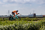 Jos Van Emden (NED) in action during the 2019 ITT Elite Men European Championships, 8th August 2019. Photo by Thomas van Bracht / PelotonPhotos.com | All photos usage must carry mandatory copyright credit (Peloton Photos | Thomas van Bracht)