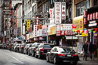 New York city Chinatown