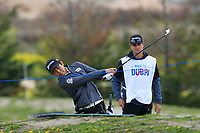 Soomin Lee (KOR) on the 4th during Round 1 of the Open de Espana 2018 at Centro Nacional de Golf on Thursday 12th April 2018.<br /> Picture:  Thos Caffrey / www.golffile.ie<br /> <br /> All photo usage must carry mandatory copyright credit (&copy; Golffile | Thos Caffrey)