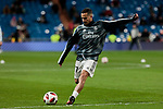 Real Madrid's Lucas Vazquez during Copa Del Rey match between Real Madrid and CD Leganes at Santiago Bernabeu Stadium in Madrid, Spain. January 09, 2019. (ALTERPHOTOS/A. Perez Meca)