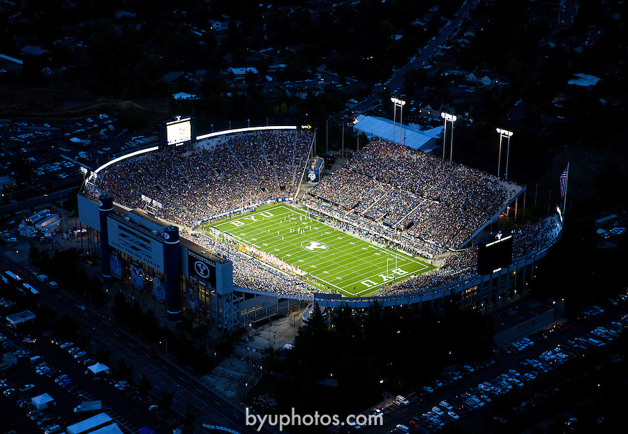 2013 BYU Football vs #15 Texas<br />
