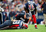 1 November 2009: Buffalo Bills' offensive tackle Jamon Meredith is attended to on the field after being hurt during a game against the Houston Texans at Ralph Wilson Stadium in Orchard Park, New York, USA. The Texans defeated the Bills 31-10. Mandatory Credit: Ed Wolfstein Photo