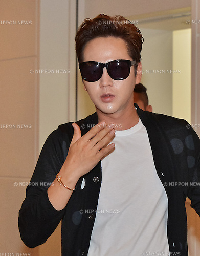Jang Keun-Suk, Jun 04, 2016 : South Korean actor Jang Keun-Suk arrives at Tokyo International Airport in Tokyo, Japan, on July 4, 2016.