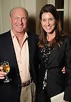 Scotty Arnoldy and Phoebe Tudor at a reception for Chicks with Guns author Lindsay McCrum at the home of Lynn and Oscar Wyatt Tuesday Sept. 20,2011.(Dave Rossman/For the Chronicle)