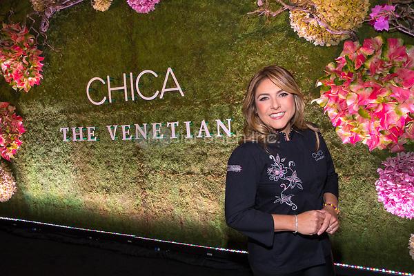 LAS VEGAS, NV - May 12, 2017: ***HOUSE COVERAGE*** Chef Lorena Garcia pictured at Chica Las Vegas Grand Opening at The Venetian Las Vegas in Las Vegas, NV on May 12, 2017. Credit: Erik Kabik Photography/ MediaPunch