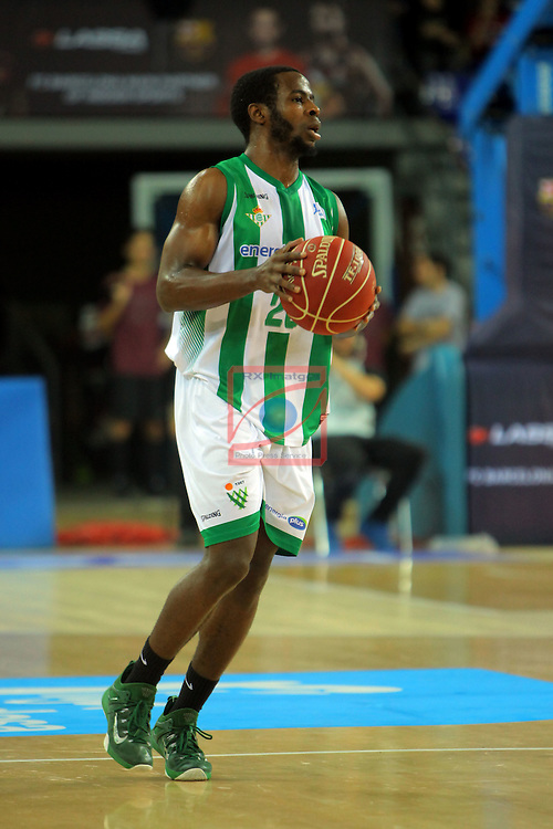 League ACB-ENDESA 2016/2017. Game: 5.<br /> FC Barcelona Lassa vs BEP-Real Betis Energia Plus: 80-58.<br /> Kenny Chery.