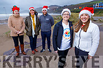 Launching the Inch Beach Christmas Day swim in aid of the Kerry/Cork Health Link bus in Inch beach on ThursdayFront: Breda Dyland (Kerry Cancer Support) and Margaret Foley<br /> Back l to r: Trish Kelly (Kerry Cancer Support), Joan Long and Michael Gallagher (Sammie's Restaurant)