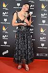 Barbara Lennie win the award at Feroz Awards 2017 in Madrid, Spain. January 23, 2017. (ALTERPHOTOS/BorjaB.Hojas)