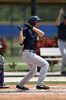 New York Yankees Dominic Jose (62) during a minor league spring training game against the Toronto Blue Jays on March 24, 2015 at the Englebert Complex in Dunedin, Florida.  (Mike Janes/Four Seam Images)