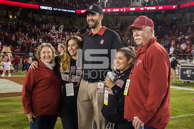 Stanford, CA, October 24, 2015<br /> Stanford Football vs. University of Washington. Stanford won 31-14.