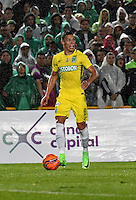 BOGOTA - COLOMBIA -25-02-2017: Mateus Uribe, jugador de Atletico Nacional, en acción durante partido entre La Equidad y Atletico Nacional, por la fecha 5 de la Liga Aguila I-2017, jugado en el estadio Nemesio Camacho El Campin de la ciudad de Bogota. / Mateus Uribe, player of Atletico Nacional, in action during a match between La Equidad and Atletico Nacional, for the date 5 of the Liga Aguila I-2017 at the Nemesio Camacho El Campin Stadium in Bogota city, Photo: VizzorImage  / Luis Ramirez / Staff.