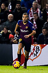 Jordi Alba Ramos of FC Barcelona in action during the La Liga 2018-19 match between Rayo Vallecano and FC Barcelona at Estadio de Vallecas, on November 03 2018 in Madrid, Spain. Photo by Diego Gouto / Power Sport Images