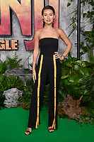 Montana Brown at the &quot;Jumanji: Welcome to the Jungle&quot; premiere at the Vue West End, Leicester Square, London, UK. <br /> 07 December  2017<br /> Picture: Steve Vas/Featureflash/SilverHub 0208 004 5359 sales@silverhubmedia.com