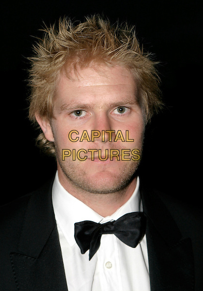 MATTHEW HOGGARD .Professional Cricketers' Association Awards Dinner at the Royal Albert Hall, SW7, London.September 26th, 2005.headshot portrait bow tie.www.capitalpictures.com.sales@capitalpictures.com.© Capital Pictures.