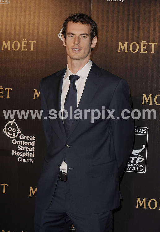 **ALL ROUND PICTURES FROM SOLARPIX.COM**                                             **WORLDWIDE SYNDICATION RIGHTS**                                                                                  Caption:  A Night With The Stars' Barclays ATP World Tour Finals Gala hosted by Great Ormond Street Hospital Children's Charity and supported by Moet & Chandon at Battersea Power Station London                                                                             This pic:Tennis player Andrew Murray                                                                                              JOB REF:14204        LNJ       DATE: 17.11.2011                                                           **MUST CREDIT SOLARPIX.COM OR DOUBLE FEE WILL BE CHARGED**                                                                      **MUST AGREE FEE BEFORE ONLINE USAGE**                               **CALL US ON: +34 952 811 768 or LOW RATE FROM UK 0844 617 7637**