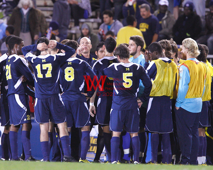 University of Michigan men's soccer were defeated by #2 Akron 2-1 in the Semi Final Round of the 2010 NCAA College Cup at UCSB in Santa Barbara on December 10th, 2010..
