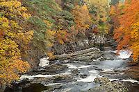 River Moriston in Autumn