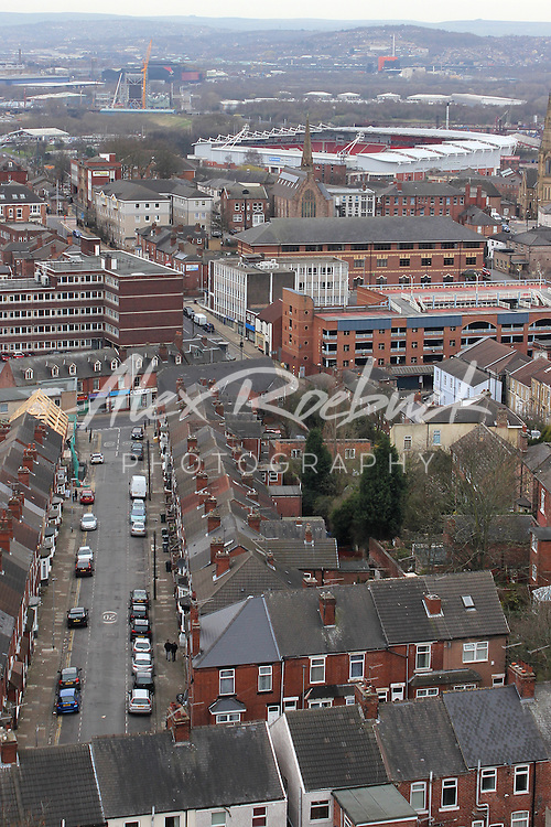 ROTHERHAM TOWN AERIAL IMAGES<br /> 01/05/2016<br /> <br /> Mandatory Credit - Alex Roebuck / www.alexroebuck.co.uk