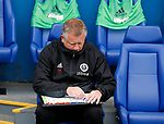 Chris Wilder manager of Sheffield Utd plots during the Championship match at the Hillsborough Stadium, Sheffield. Picture date 24th September 2017. Picture credit should read: Simon Bellis/Sportimage