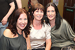 Margaret Downey, Michelle Fay and Lucy Campbell at the Jock MacHale Tribute Night in McHugh's...Picture Jenny Matthews/Newsfile.ie