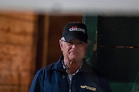 HALLANDALE, FL - JANUARY 27: Art Sherman, trainer of California Chrome, at Gulfstream Park Race Course on January 27, 2017 in Hallandale Beach, Florida. (Photo by Douglas DeFelice/Eclipse Sportswire/Getty Images)