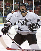 Nick Mazzolini - The Boston College Eagles defeated the Providence College Friars 4-1 on Saturday, January 7, 2006, at Schneider Arena in Providence, Rhode Island.