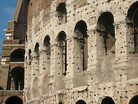 The colossal Coliseum, Rome.