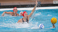Stanford - February 1, 2015:Anna Yelizarova  during the Stanford vs UCLA title match of the 2015 Stanford Invitational at Avery Aquatic Center on Sunday afternoon.<br /> <br /> The Cardinal defeated the Bruins 9-5.