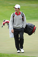 STANFORD, CA - APRIL 13:  David Chung of the Stanford Cardinal during the U.S. Intercollegiate on April 13, 2010 at the Stanford Golf Course in Stanford, California.