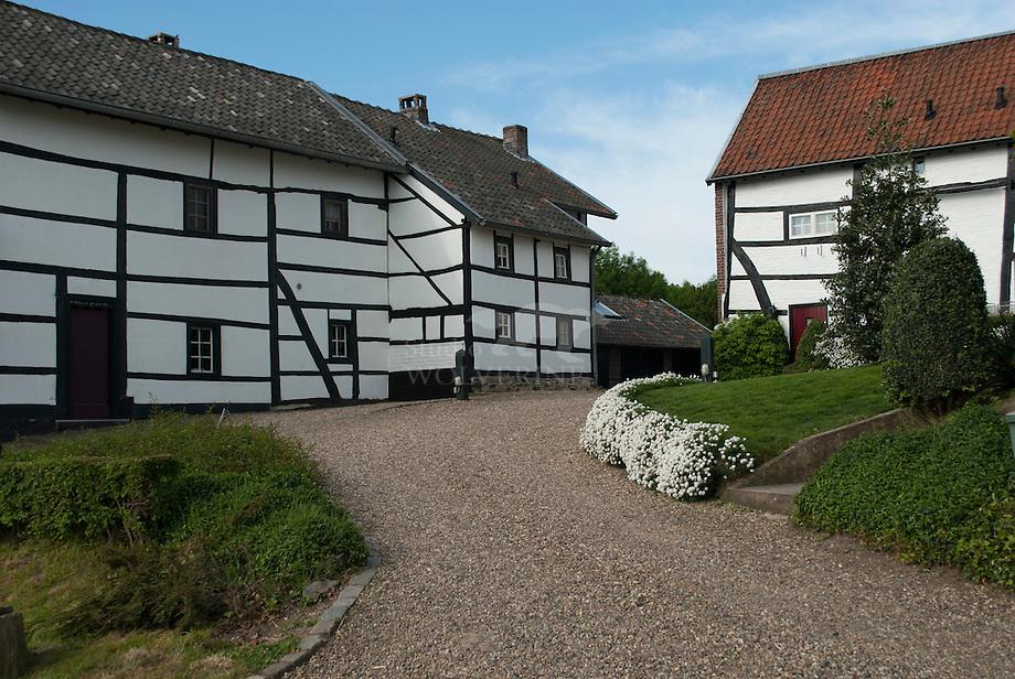 Vakwerk huizen te Plaat - Limburg