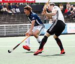 AMSTELVEEN  -   Mirco Pruyser (Adam)   Hoofdklasse hockey heren ,competitie, heren, Amsterdam-Pinoke (3-2)  . COPYRIGHT KOEN SUYK