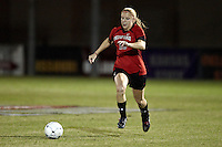 SAN ANTONIO, TX - NOVEMBER 3, 2010: The Oklahoma State University Cowgirls vs. the Texas Tech Red Raiders in the Big 12 Women's Soccer Championship Quarterfinals at the Blossom Soccer Stadium. (Photo by Jeff Huehn)