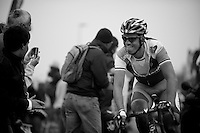 Paris-Roubaix 2012 ..Lars Boom 2nd at Carrefour de l'Arbre