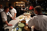 MELBOURNE, 30 June 2017 – Chefs prepare for a dinner celebrating Philippe Mouchel's 25 years in Australia with six chefs who worked with him in the past at Philippe Restaurant in Melbourne, Australia.