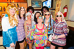 Pictured at the Abba Tribute night held in the Railway bar Abbeyfeale on Sunday night was L-R: Front Row: Trish Nolan, Carol Collins, Noelle Ahern, Carol Fitzgerald, Orla Dennison, Martina Kelly, Abbeyfeale, Elaine White, Athea.<br /> Back Row L-R: Tom Nolan and Matt Ahern, Abbeyfeale.