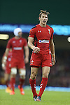 Wales full back Liam Williams.<br /> Dove Men Series 2014<br /> Wales v Fiji<br /> Millennium Stadium<br /> 15.11.14<br /> ©Steve Pope-SPORTINGWALES