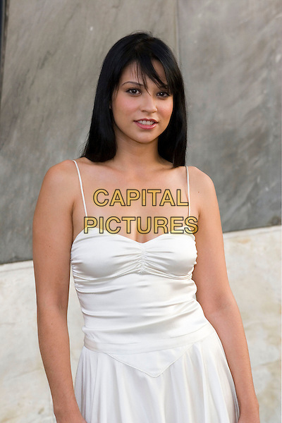 NAVI RAWAT.CBS Summer 2005 Press Tour Party Arrivals held at the Hammer Museum, Westwood, California.  .July 19th, 2005.Photo Credit: Zach Lipp/AdMedia.half length white dress .www.capitalpictures.com.sales@capitalpictures.com.© Capital Pictures.