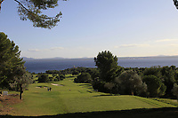 View from the 7th tee during the Pro-Am of the Challenge Tour Grand Final 2019 at Club de Golf Alcanada, Port d'Alcúdia, Mallorca, Spain on Wednesday 6th November 2019.<br /> Picture:  Thos Caffrey / Golffile<br /> <br /> All photo usage must carry mandatory copyright credit (© Golffile | Thos Caffrey)