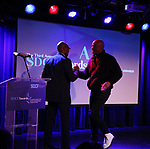 Jamil Jude and Kenny Leon during The Third Annual SDCF Awards at The The Laurie Beechman Theater on November 12, 2019 in New York City.