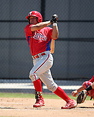March 30, 2010:  Catcher Sebastian Valle (7) of the Philadelphia Phillies organization during Spring Training at the Carpenter Complex in Clearwater, FL.  Photo By Mike Janes/Four Seam Images