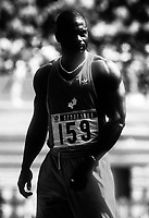 Ben Johnson Seoul Korea 1988 Olympics. Photo F. Scott Grant