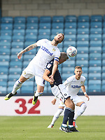 Leeds United's Liam Cooper and Millwall's Steve Morison<br /> <br /> Photographer Rob Newell/CameraSport<br /> <br /> The EFL Sky Bet Championship - Millwall v Leeds United - Saturday 15th September 2018 - The Den - London<br /> <br /> World Copyright &copy; 2018 CameraSport. All rights reserved. 43 Linden Ave. Countesthorpe. Leicester. England. LE8 5PG - Tel: +44 (0) 116 277 4147 - admin@camerasport.com - www.camerasport.com