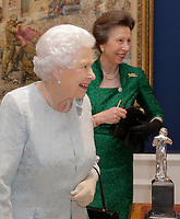 Queen Elizabeth II at Womens Royal Naval Service 100 Project Reception